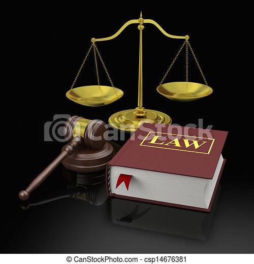 Law - csp14676381