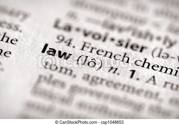 Law - csp1048653