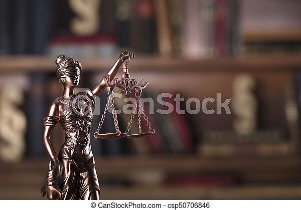 Law theme. - csp50706846