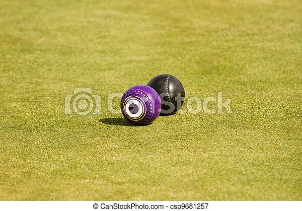 Lawn bowls - csp9681257