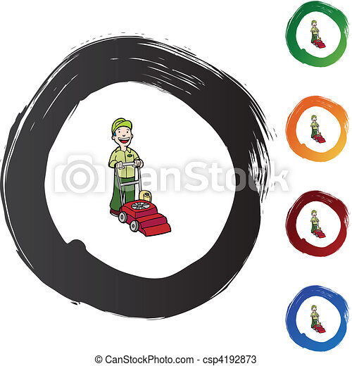 Lawn Mower - csp4192873
