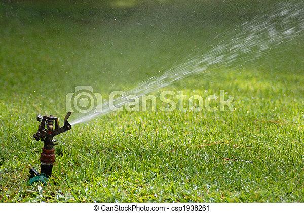 lawn sprinkler - csp1938261