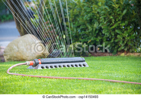 lawn sprinkler - csp14150493