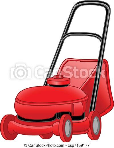 lawngräsklippningsmaskin - csp7159177