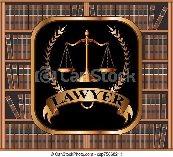 Lawyer Design - csp75868211