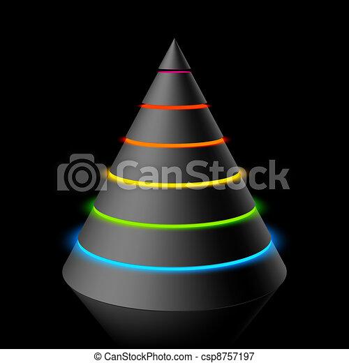Layered cone - csp8757197