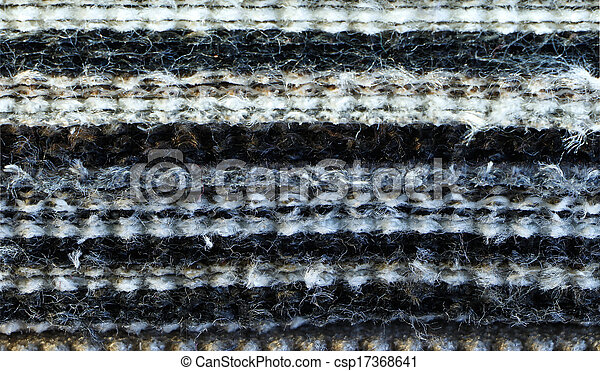 Layers of fabric as texture pattern background  - csp17368641