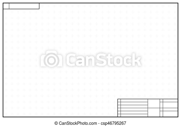 Layout template in blueprint style with marks on white layout template in blueprint style with marks csp46795267 malvernweather Choice Image