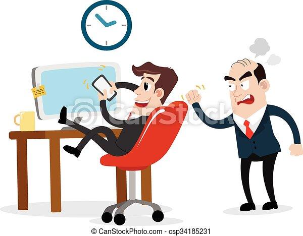 lazy businessman clipart picture of a businessman cartoon rh canstockphoto com