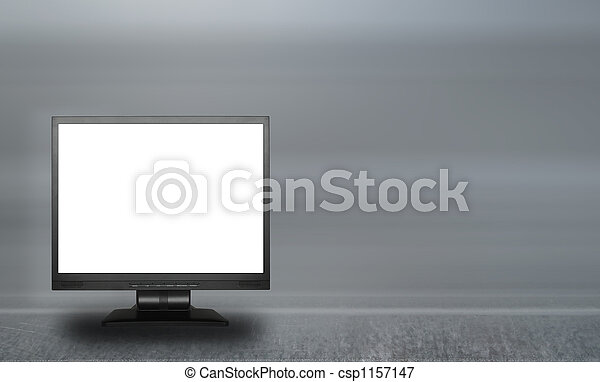 lcd, écran, vide - csp1157147