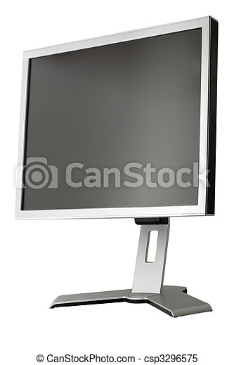LCD display panel type side view - csp3296575