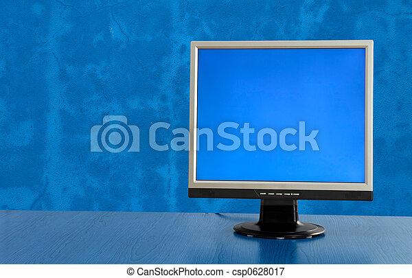 lcd přehlídka, monitor - csp0628017