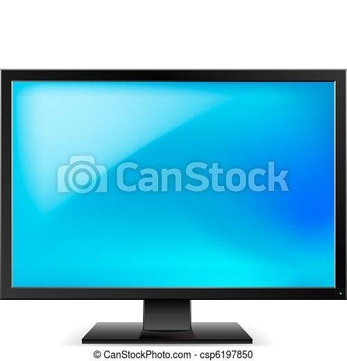 Lcd tv monitor - csp6197850