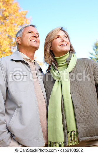 lderly seniors couple - csp6108202