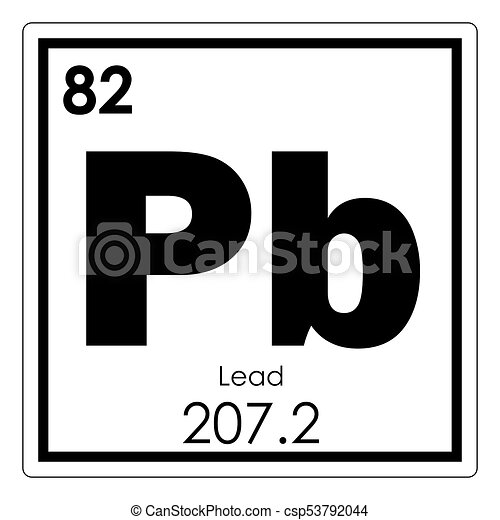 Lead chemical element periodic table science symbol lead chemical element csp53792044 urtaz Choice Image