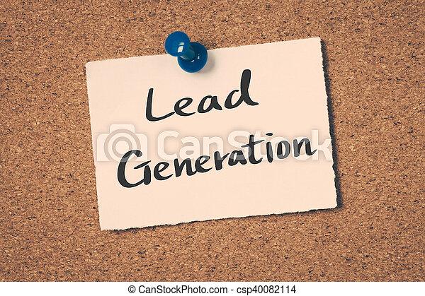 Lead Generation - csp40082114