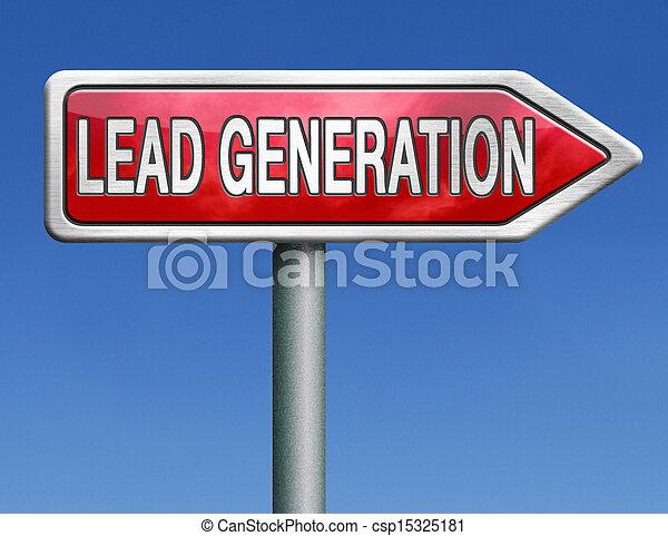 lead generation - csp15325181