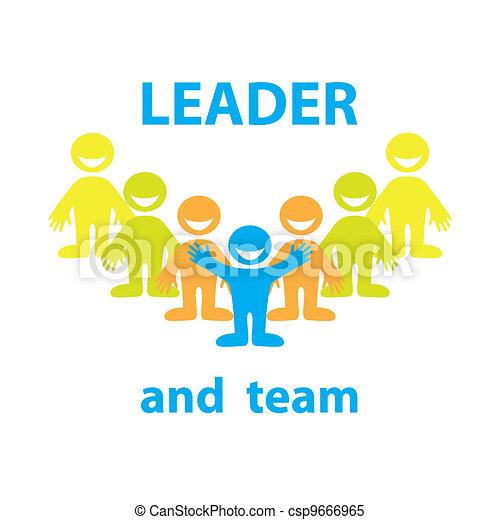 leader-team - csp9666965