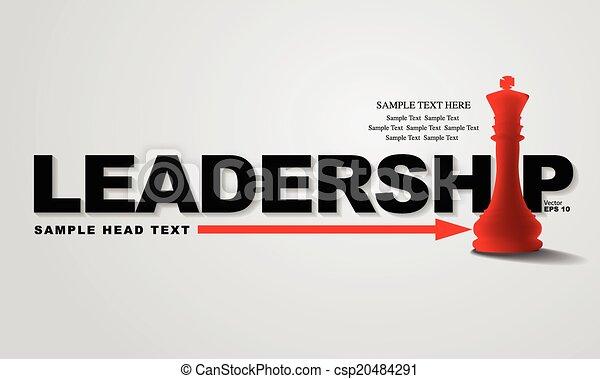 Leadership concept - csp20484291