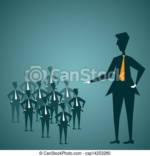leadership concept - csp14253280