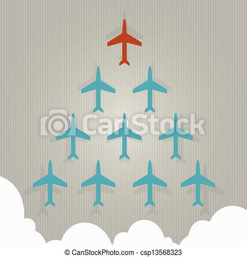 Leadership concept - csp13568323