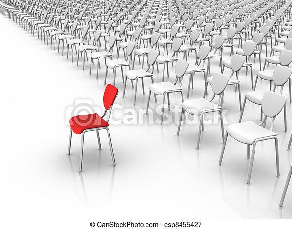 Leadership - Individuality Concept - csp8455427