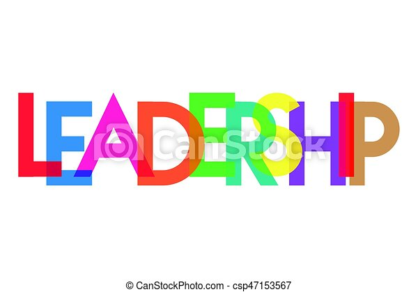 leadership letter colorful transparant background clip art vector rh canstockphoto com leadership clip art images leadership clipart black and white