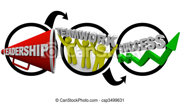leadership plus teamwork equals success symbolized by a clipart rh canstockphoto co uk clipart teamwork clip art teamwork body of christ church