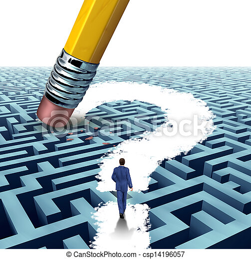 Leadership Questions - csp14196057