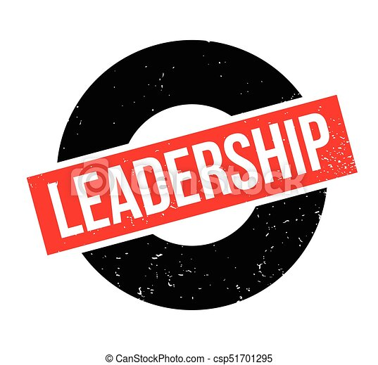 Leadership rubber stamp - csp51701295