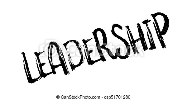 Leadership rubber stamp - csp51701280