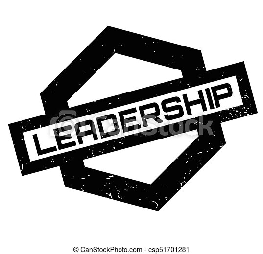 Leadership rubber stamp - csp51701281