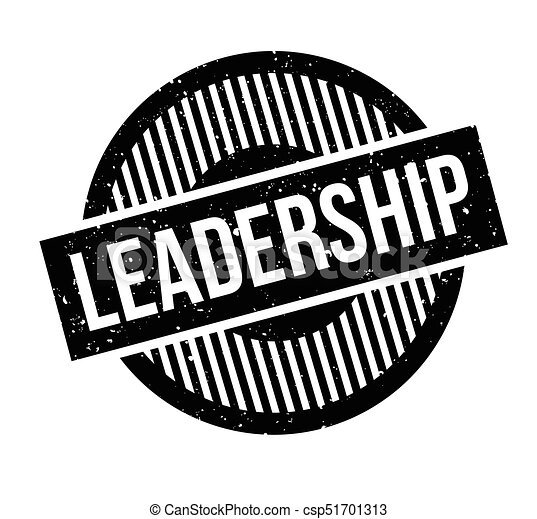 Leadership rubber stamp - csp51701313