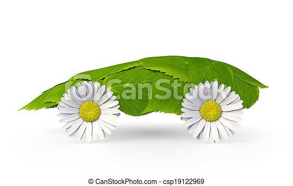 Leaf Car - csp19122969