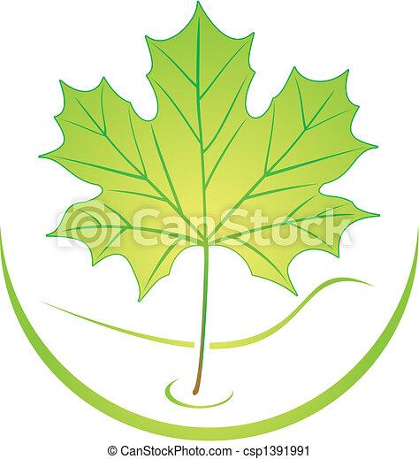 Leaf logo - csp1391991