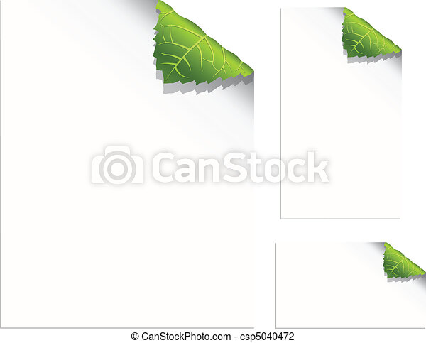 Leaf Pages - csp5040472
