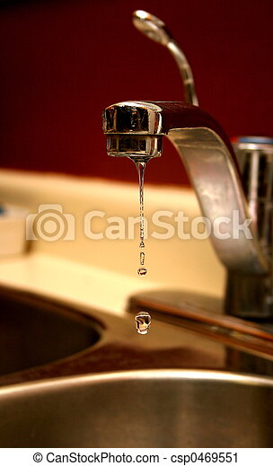 Leaky Water Faucet Kitchen Water Tap Faucet Leaking Hot Water