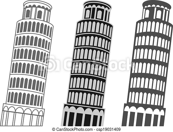 Leaning Tower of Pisa - csp19031409