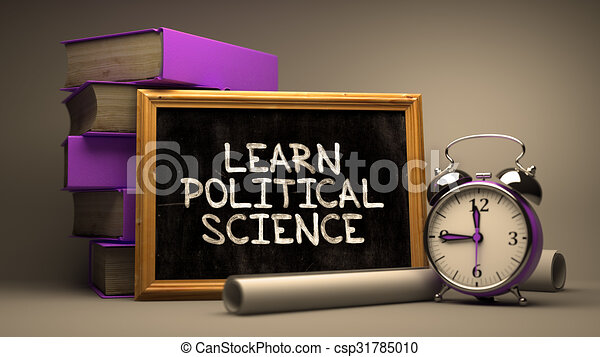 Learn Political Science Inspirational Quote On Chalkboard Learn Political Science Inspirational Quote Hand Drawn On