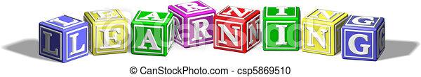 Learning alphabet blocks - csp5869510