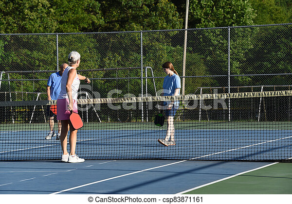 Learning Rules to Pickle Ball - csp83871161