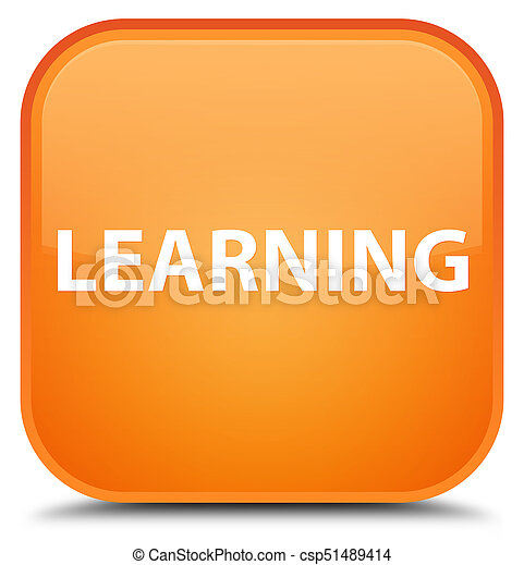 Learning special orange square button - csp51489414