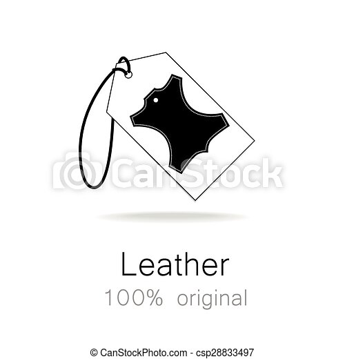Leather original - csp28833497