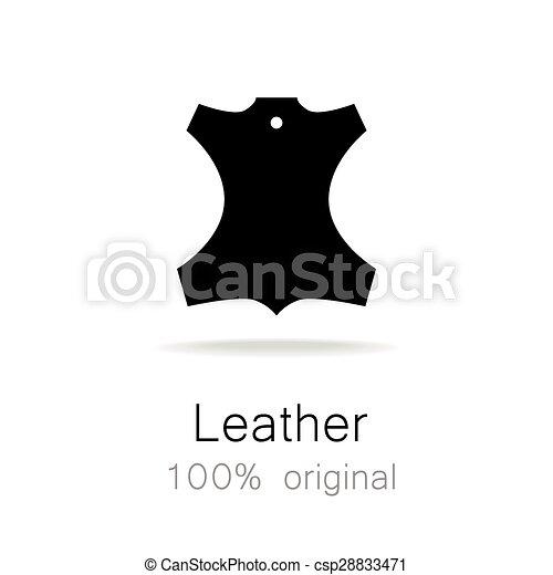 Leather original - csp28833471