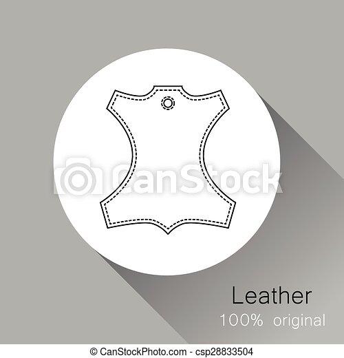 Leather original - csp28833504
