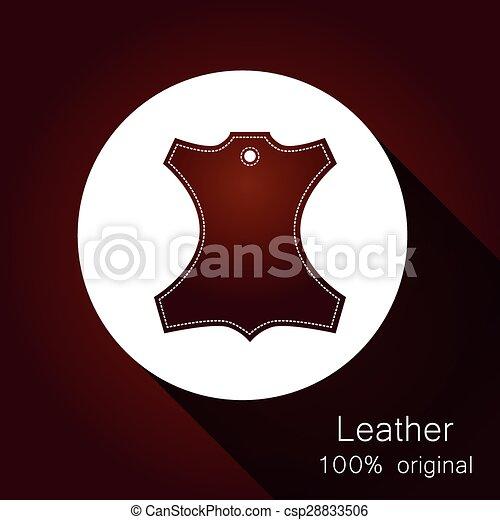 Leather original - csp28833506
