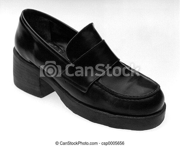 Leather Shoe - csp0005656