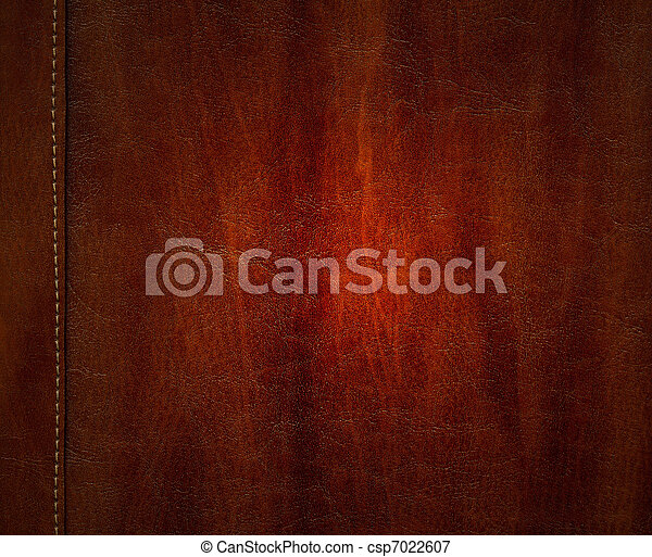 Leather texture background - csp7022607