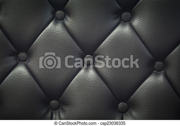 Leather texture in soft light . - csp23036335