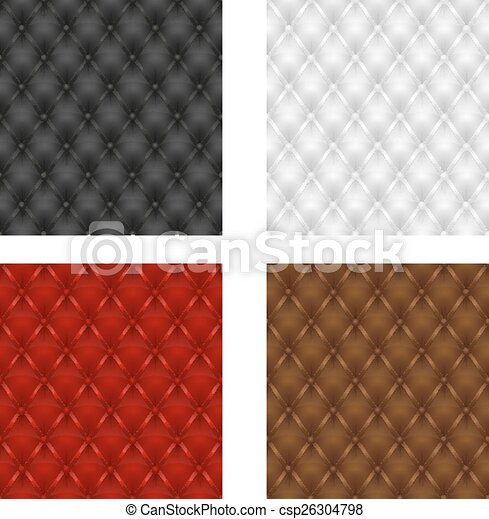 leather upholstery seamless - csp26304798